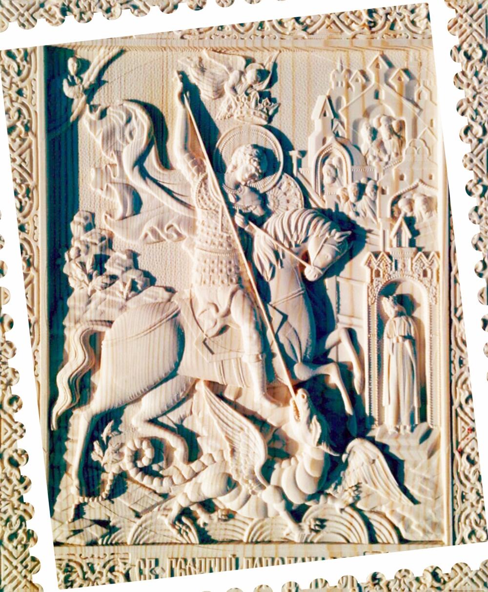 Барельеф  «Георгий Победоносец»